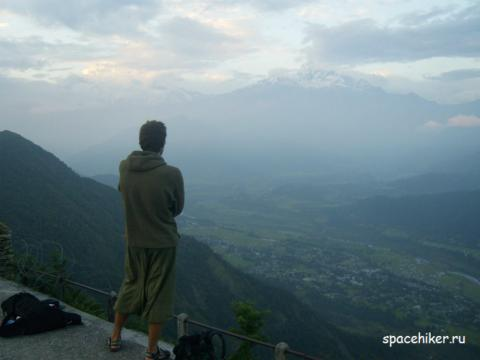 Непал, Покхара, Анапурна, Сангаркот, Сонаули, Индия, автостоп, путешествие