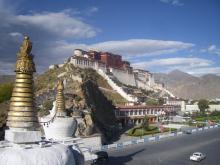 автостоп, путешествие, Тибет, Китай, Лхаса, Потала
